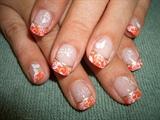Orange & Butterflies