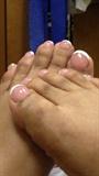 hump toe nails toes toenails french pedi