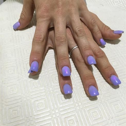 Purple violet simmer