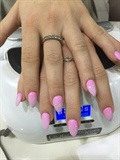 Pink 2 tones