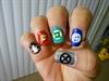 SuperHero logos (right hand)