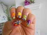 Skittles design (left hand)