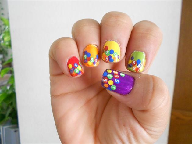 Skittles design (right hand)