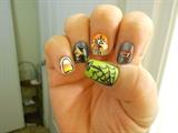Halloween Design: right hand
