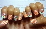 silk nails + nail art