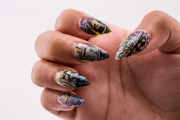 Nails Next Top Nail Artist Top 18 Nail Art Gallery Step By Step