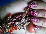 NA pink and black