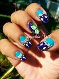 Oriental Nail art