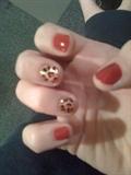 Holiday party nails