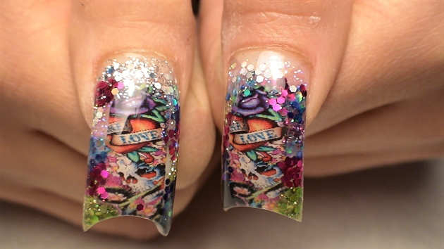 Ed hardy mix 2 nail art gallery ed hardy mix 2 prinsesfo Choice Image