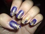 violet vs. gold