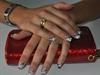 Hand Painted Nail Art On Natural Nails
