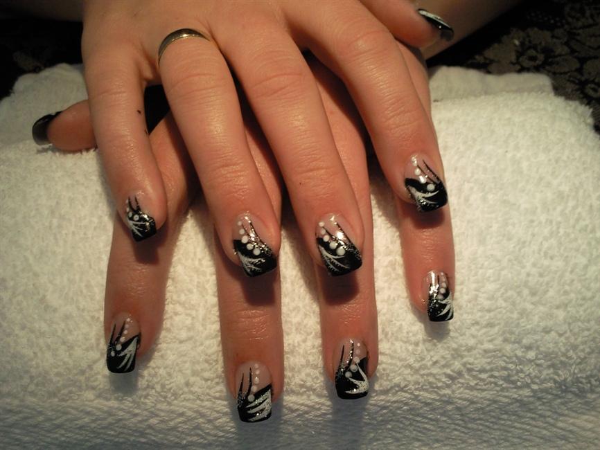 Hand painted nail art nail art gallery prinsesfo Choice Image