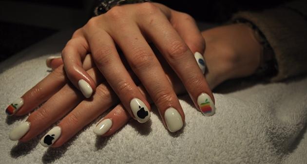 Apple Nails :)