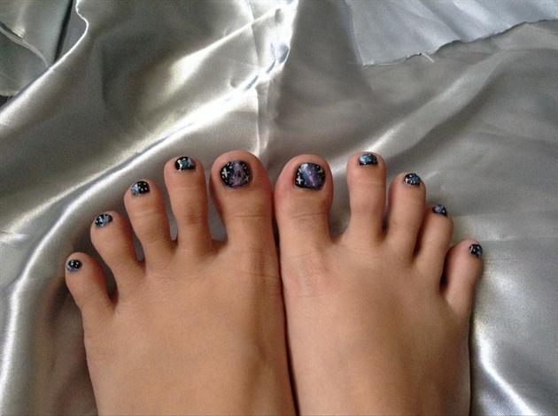 Galaxy toes