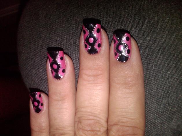 Pink & Black Fiesta