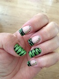 Green Tiger Stripe
