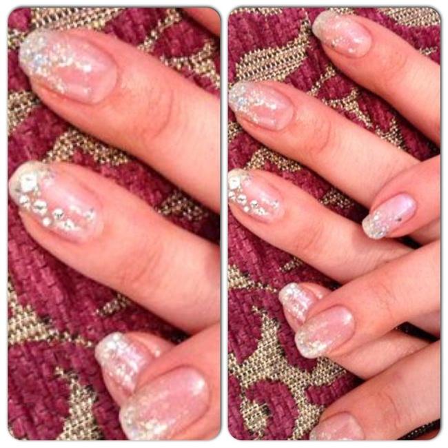Gel nails & Swarovski Crystal Gems - Nail Art Gallery