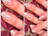 Gel nails & Swarovski Crystal Gems