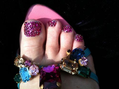 Pink Crystal Bling