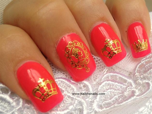 Patriotic Nail - Royal Nails