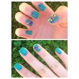 Peacock Nails 💙