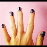 Purple Tattoo Nails!