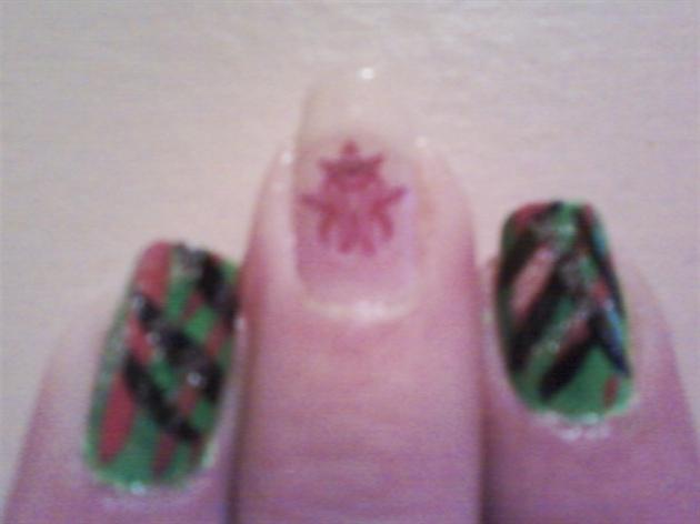 Stripes and Glitter (KMK)