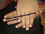nude romantic manicure