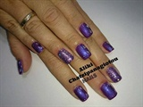 gel polish purple