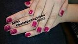 deep pink polish