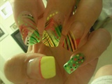 Ne'Cole Yellow & Green