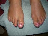 Holiday toes