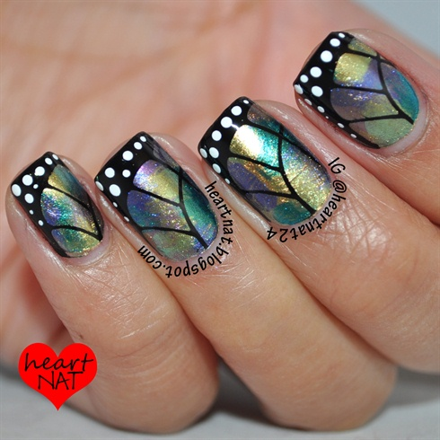 Multichrome Butterfly Wings