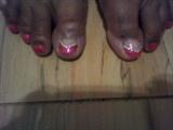 Rosey goddess toes