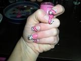 Pink zebra tips