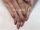 Glitter And Swarovski Crystals