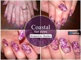 Purple Marbling
