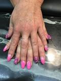 Leopard Print Pink