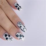 Nail Art Hand Painting