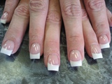 classic pink n white