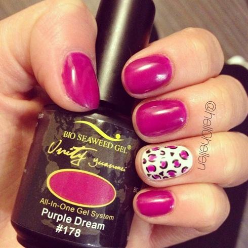 Purple Dreamin Leopard