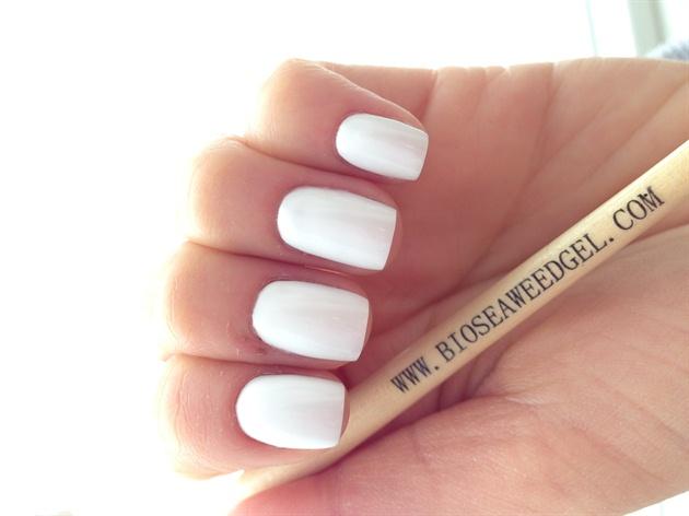 White BSG Polish