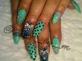 Turquoise Stiletto
