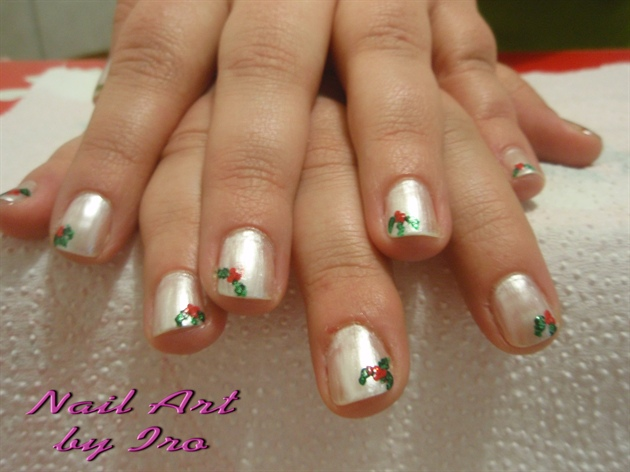 Christmas Nail Art I