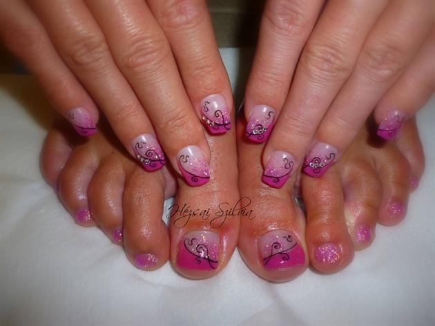 Diseños para pies y Manos - Hands and Feet Desings