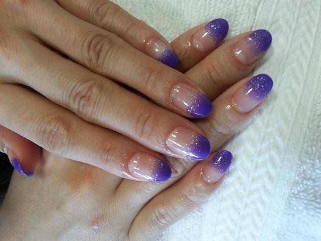 Ombre nail by Presto gel