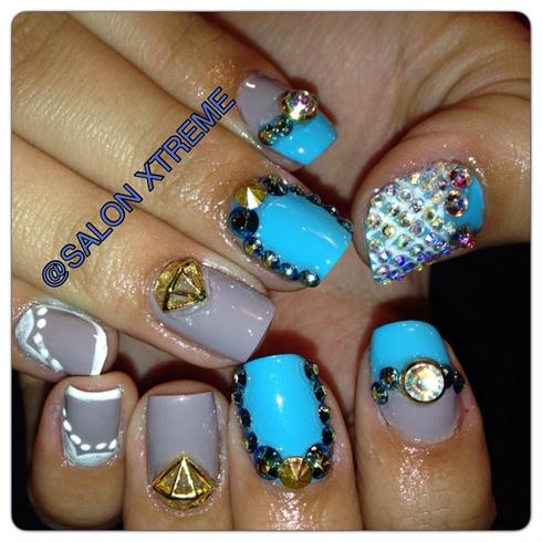 All natural nails !!!