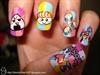 I LOVE SUSHI nail art