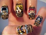 One Piece nail art